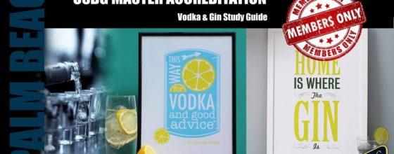 9/30/15 USBG Master Accreditation Vodka & Gin Study Class
