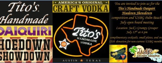 7/12/16 Tito's Handmade Daiquiri Hoedown Showdown