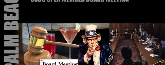 11/9/16 USBG Open Board Meeting