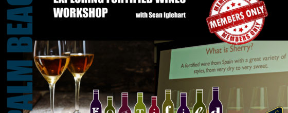 "12/03/14 ""Exploring Fortified Wines Workshop"" at Sweetwater"
