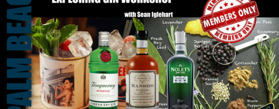 "02/11/15 ""Exploring Gin Workshop"" at Sweetwater"