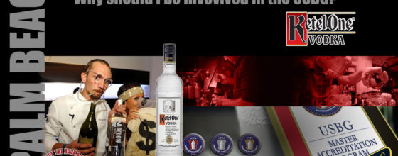 "2/19/14 ""Why should I be invovlved with the USBG?"" seminar sponsored by Ketel One Vodka"