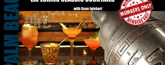 "4/15/15 ""Exploring Classic Cocktails Workshop"" at Sweetwater"