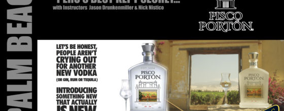 "6/25/14 ""Peru's Best Kept Secret…"" seminar sponsored by Pisco Porton"