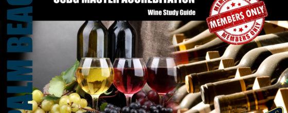 8/19/15 USBG Master Accreditation Wine Study Class