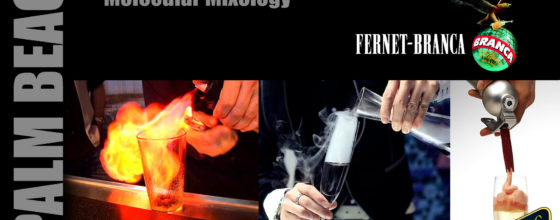 "9/18/13 ""Molecular Mixology"" seminar sponsored by Fernet Branca @ Off the Hookah WPB"