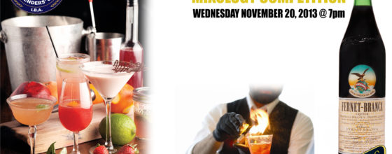 """11/20/13 """"Fernet Branca Mixology Competition"""" at Off the Hookah"""
