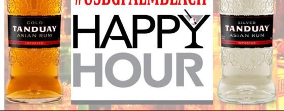 "11/04/13 ""Tanduay Rum Happy Hour"" at Grease"