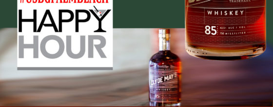 9/15/14 USBG Happy Hour sponsored by Clyde May's Whiskey