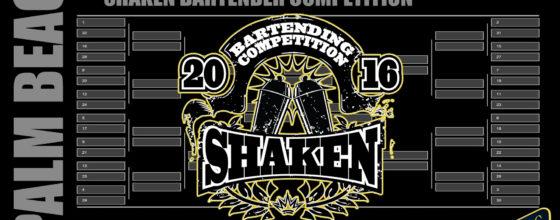9/20-11/27/16 Shaken Bartending Competition