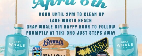 "04/06/21 ""Beach Clean Up with Gray Whale Gin"""